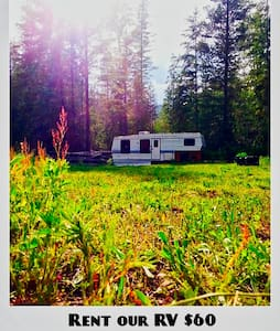 Private RV for rent on acreage