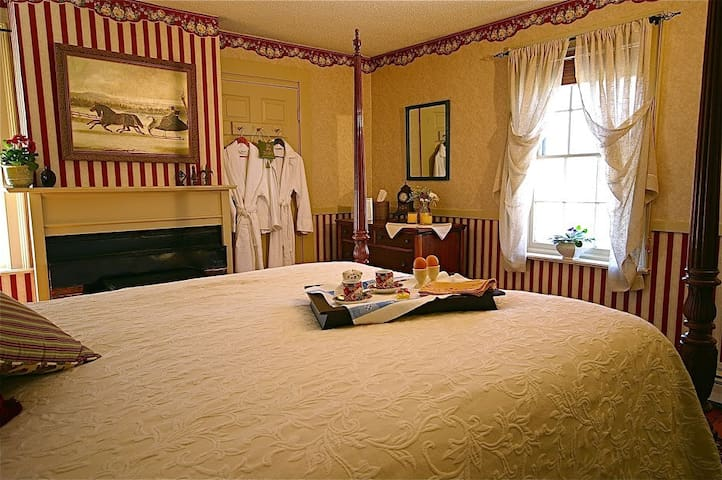 Federal House Inn, Harry's Room #2, Private bath - Plymouth - Bed & Breakfast