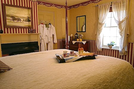 Federal House Inn, Harry's Room #2, Private bath - Plymouth - Wikt i opierunek