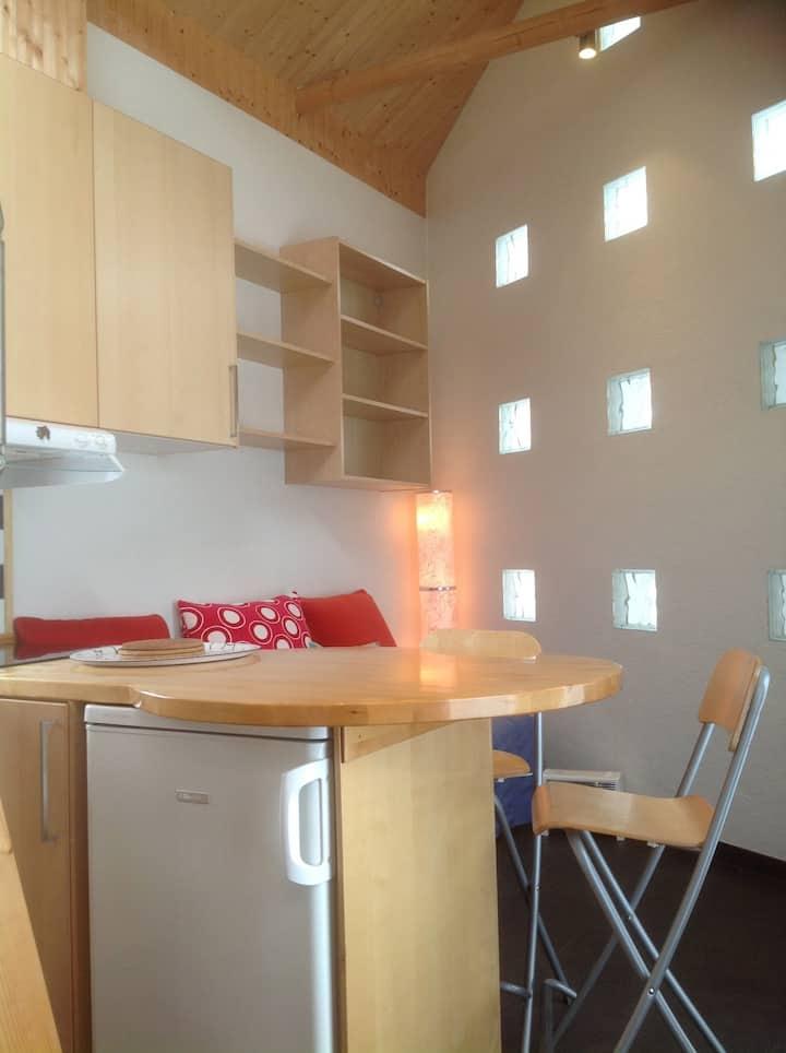 Spennende og moderne leilighet