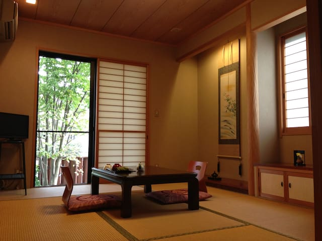 Tatami Room near Narita Airport - Shisui, Inba District - Casa