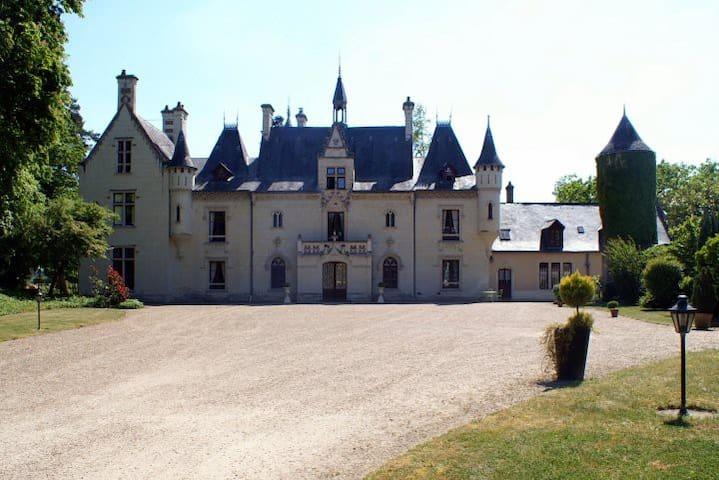 """Chambre """"Princesse"""" Château Saumur - Vivy - Şato"""