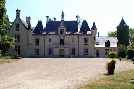 """Chambre """"Princesse"""" Château Saumur - Vivy"""