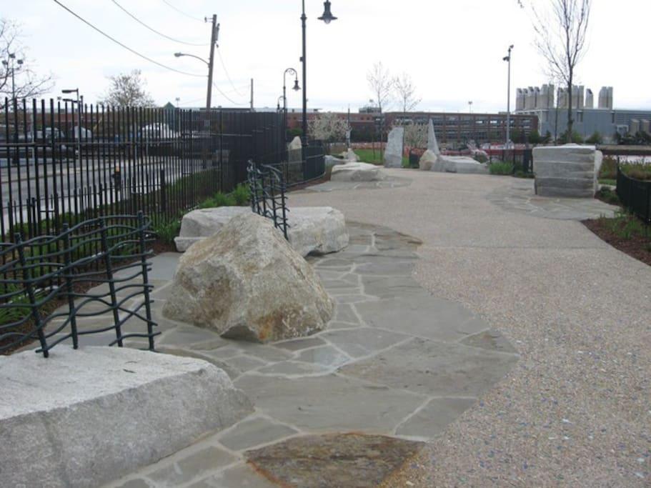 Walkway in neighborhood Harborwalk Park