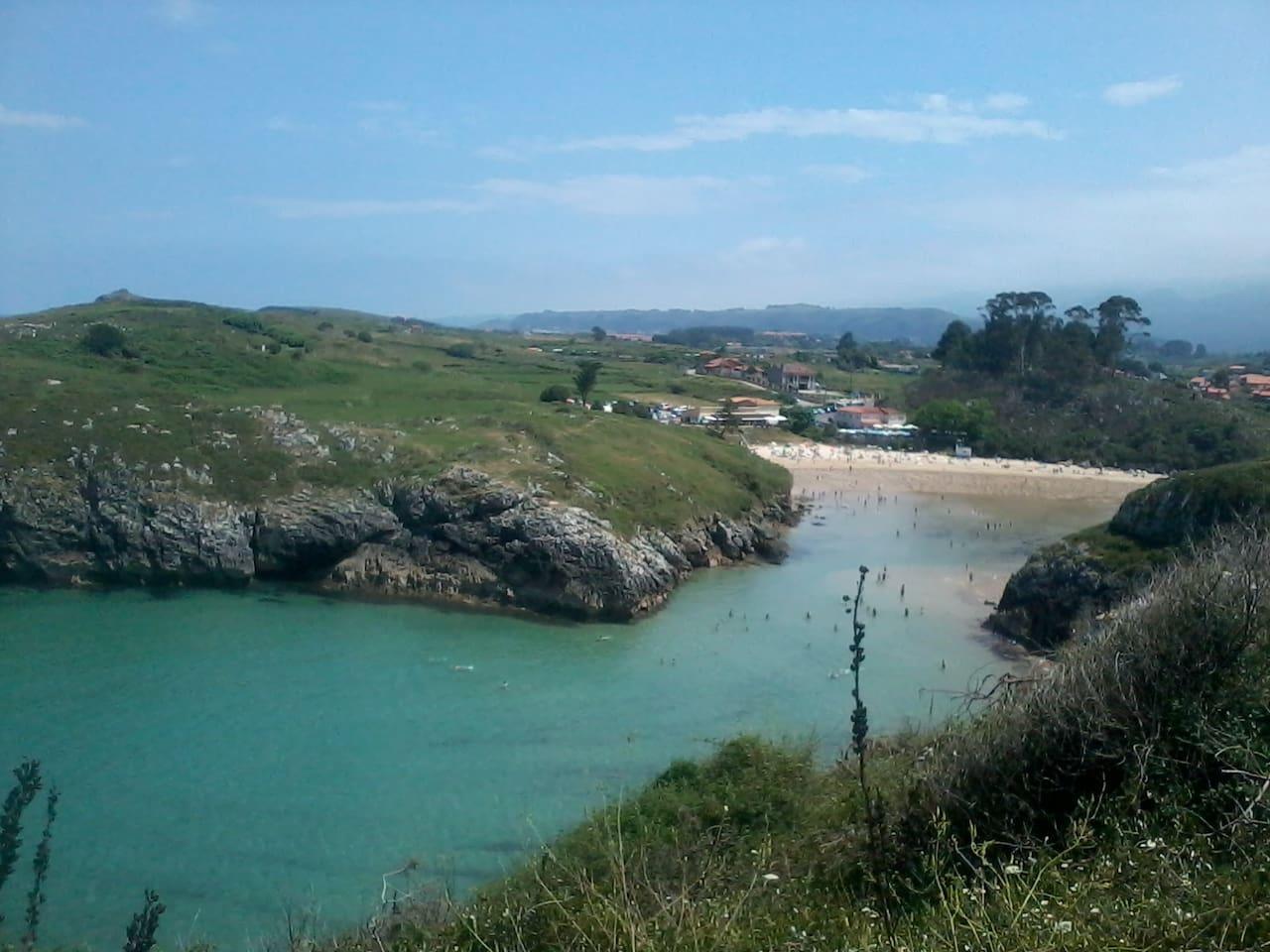 Poo De Llanes beach