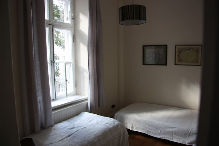 Bedroom 8sqm, 2 Beds 90cm.