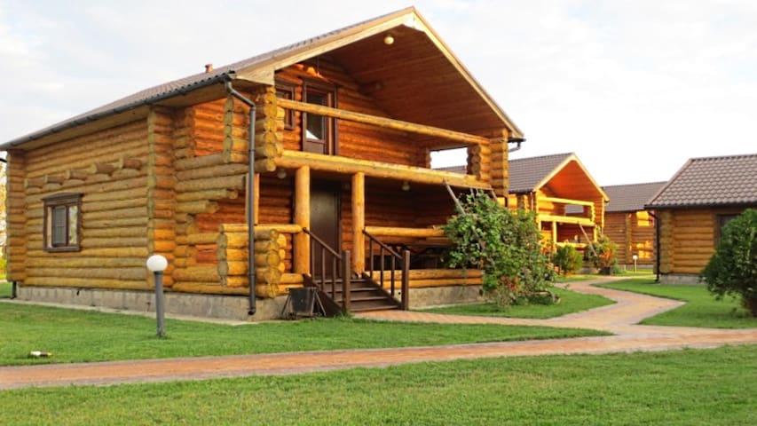 Двухэтажный коттедж - Obraztsovo-Travino - Huis
