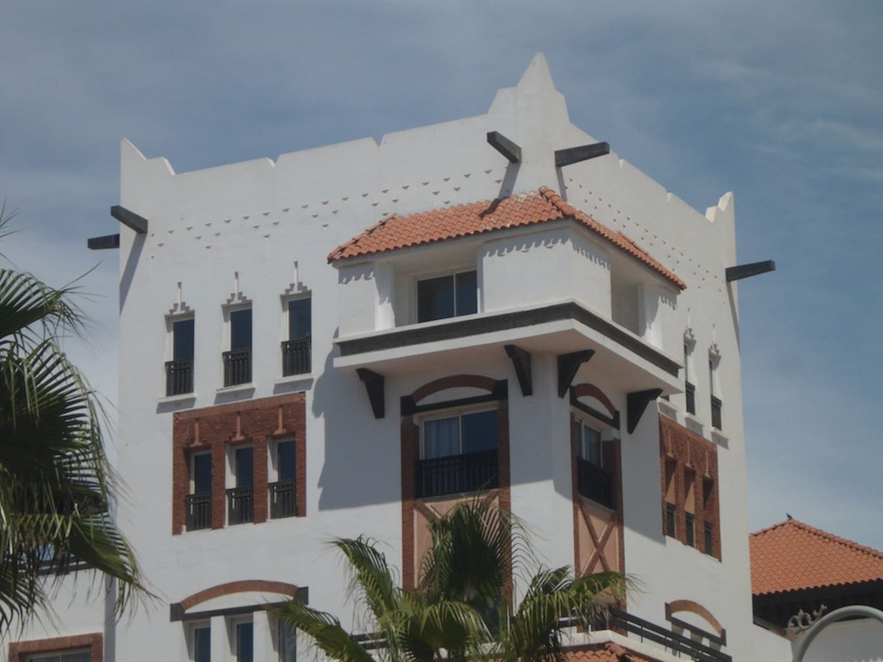 Outside view of the Penthouse