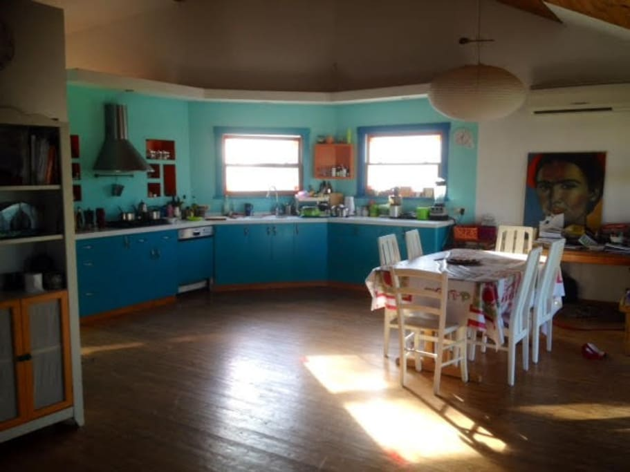 the beatifull and spacious kitchen