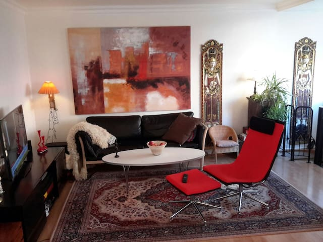 100 m2 8 min from Cph city center - København - Apartment