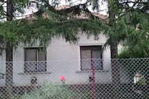 near parents' house