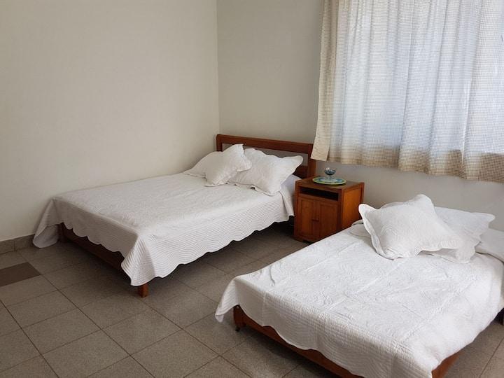 Cómodas habitaciones en Melgar.