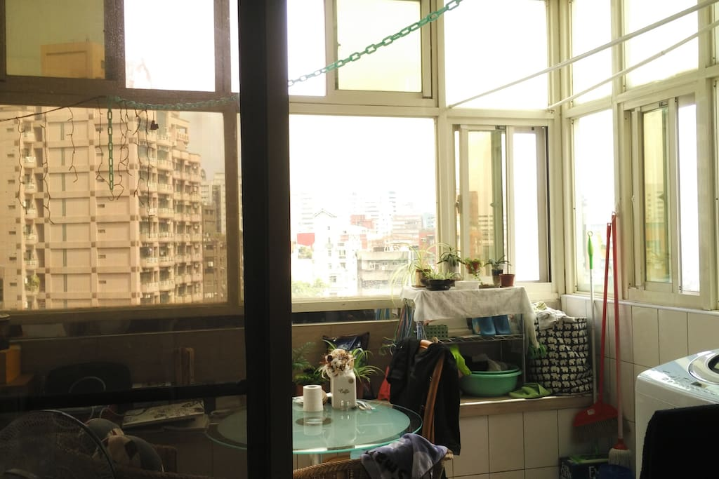 View from living room / 從客廳看出去