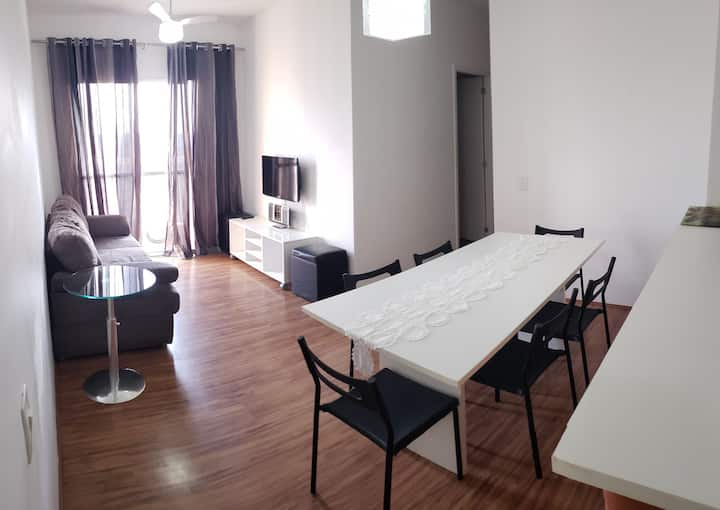 Apartamento em Piracicaba à 20min do Thermas