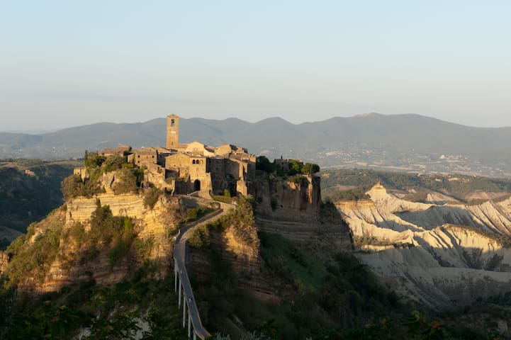 Apartment and garden in Civita  - Bagnoregio - Talo