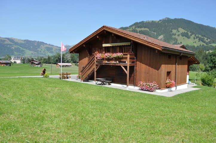 Alpenchalet Weidhaus Sockbett-Zimmer Nr.4