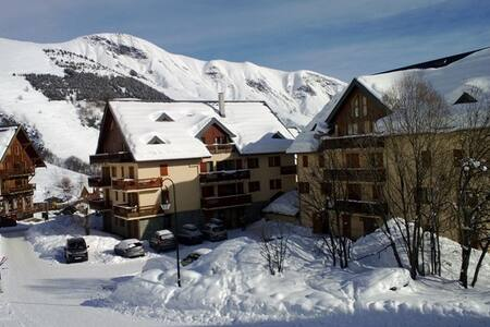 Apartment foot of the slopes and trade