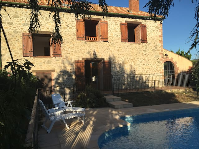 Mas de L'eveque, private pool, amazing views, wifi - Prades - Villa