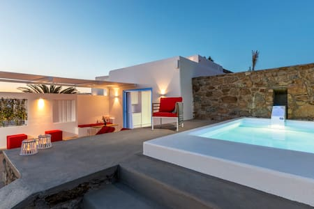 O Lofos - Chora Villa in Agios Stefanos w/seaview - Tourlos - Вилла
