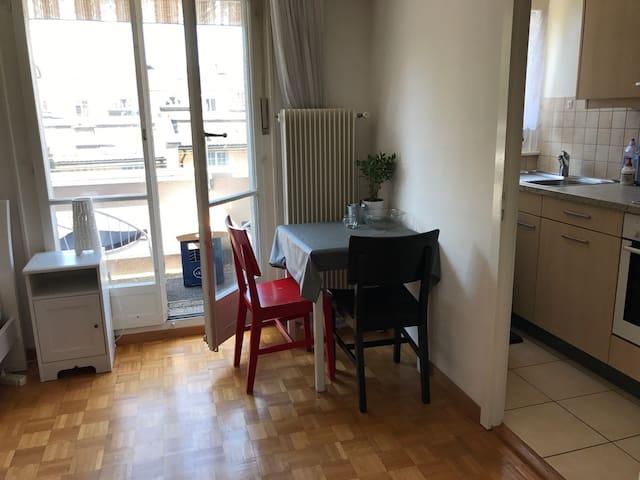 Studio proche centre de Lausanne à 10mn de la gare - Lausanne - Apartment
