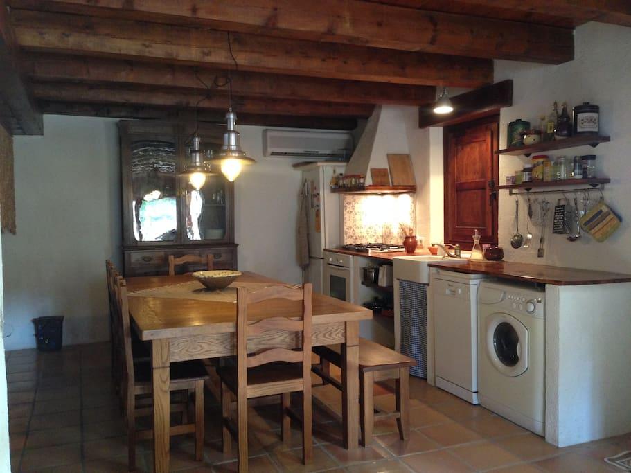 Antiguo pajar reformado casas de campo en alquiler en font rub catalunya espa a - Alquiler casa rubi ...