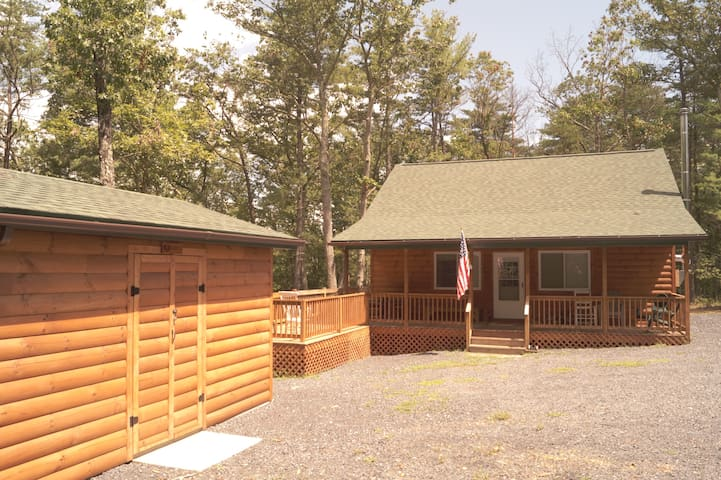 New Log Cabin in The Mountains - Mount Jackson - Cabana