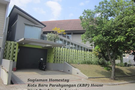 Homestay: spacious & eco-friendly - Padalarang - Haus