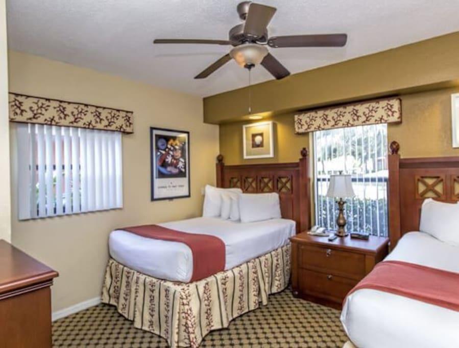 Two Bedroom Villa Resort Resorts For Rent In Orlando
