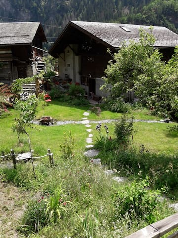 Little paradise in the heart of the swiss alps