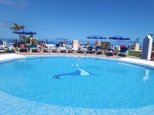 Apartment with swimingpool in Tenerife (La Quinta)