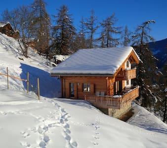 Mountain lodge LOULOU (amazing ski chalet!!!) - Hérémence - Chalet