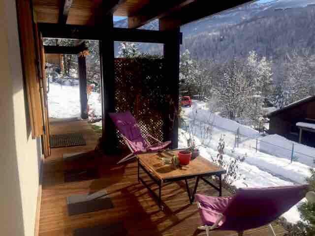 Logement cosy, Sauna offert en décembre !!