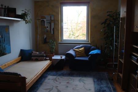 Helles Privatzimmer, zentral, bequem, freundlich - Augsburg