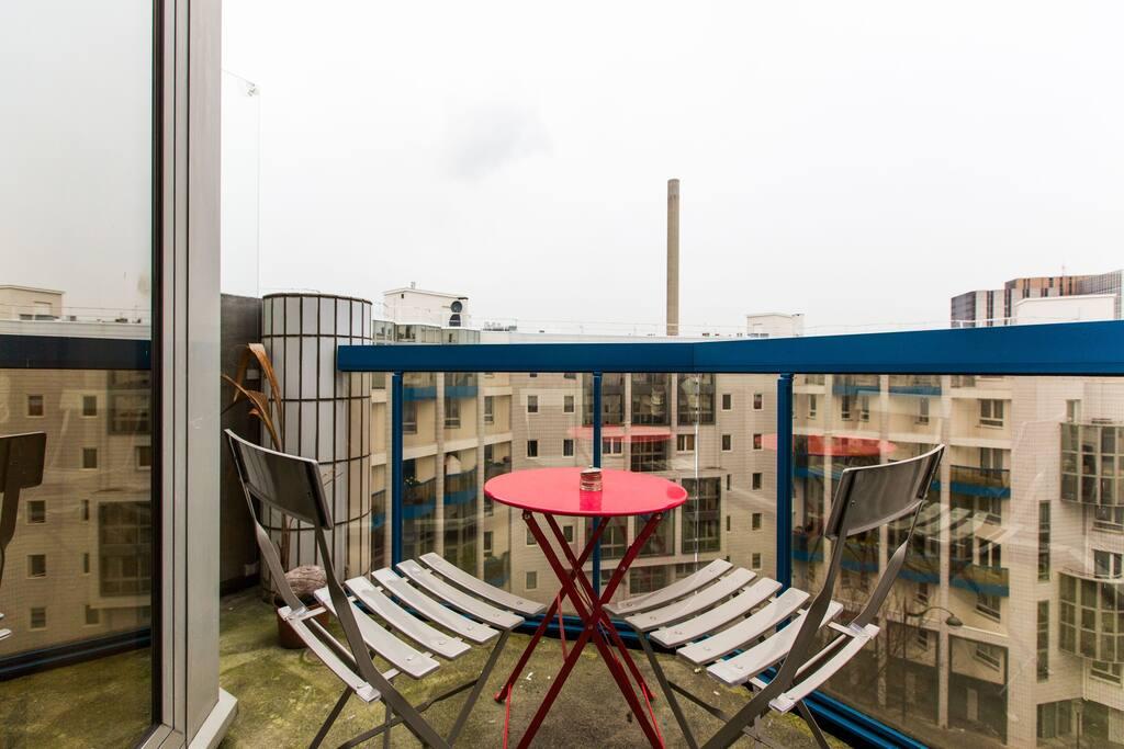 balcon pour se poser