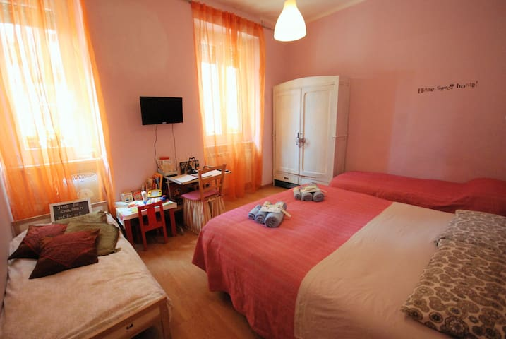 Two-room flat with yard near Lingotto Fiere