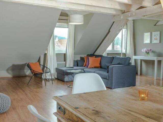 Hotel Sonne, (Kirchzarten), Maisonette Suite mit 70qm für maximal 6 Personen