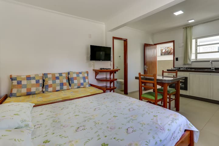 Apartamento Studio Para Casal em Canasvieiras
