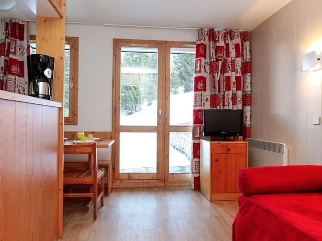 Superb Studio Apartment in Courchevel