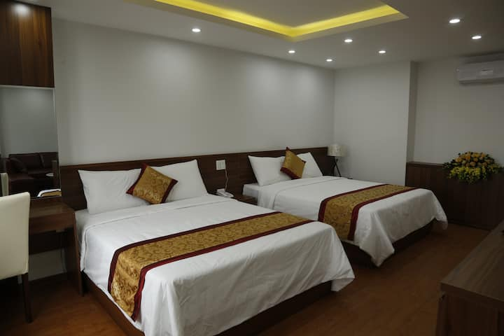 Triple bed room Bao Ngoc Diamond Hotel Cao Bang