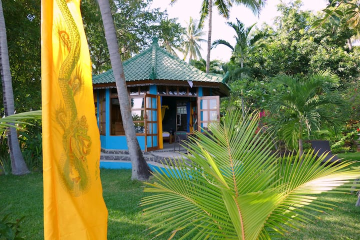 Beachfrontbungalow Villa Oasis
