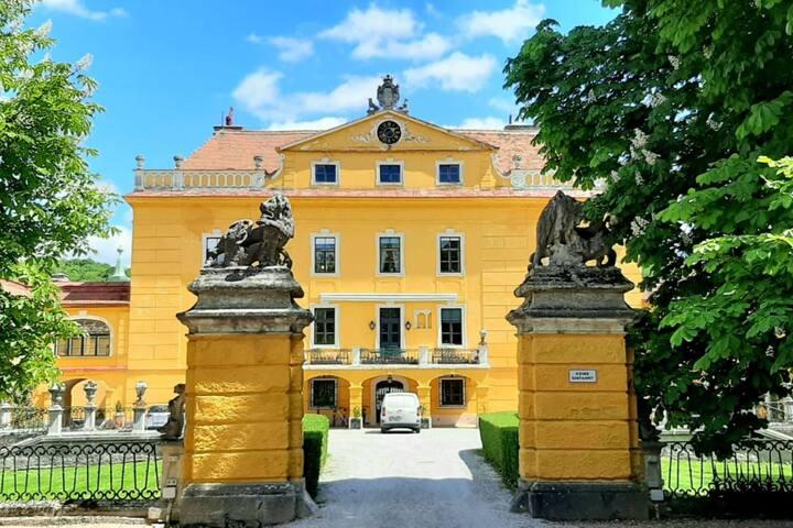 Glorious Castle in Sankt Pölten with Sauna