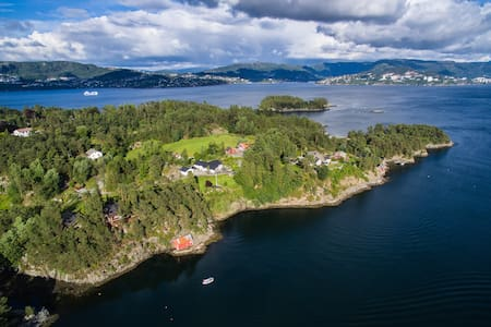 "Olsnes Resort-""Thorolvbu"" 25.min. from Bergen City - Askøy - Chalet"