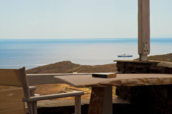 Sea View Exclusive Studios | Syros Studio