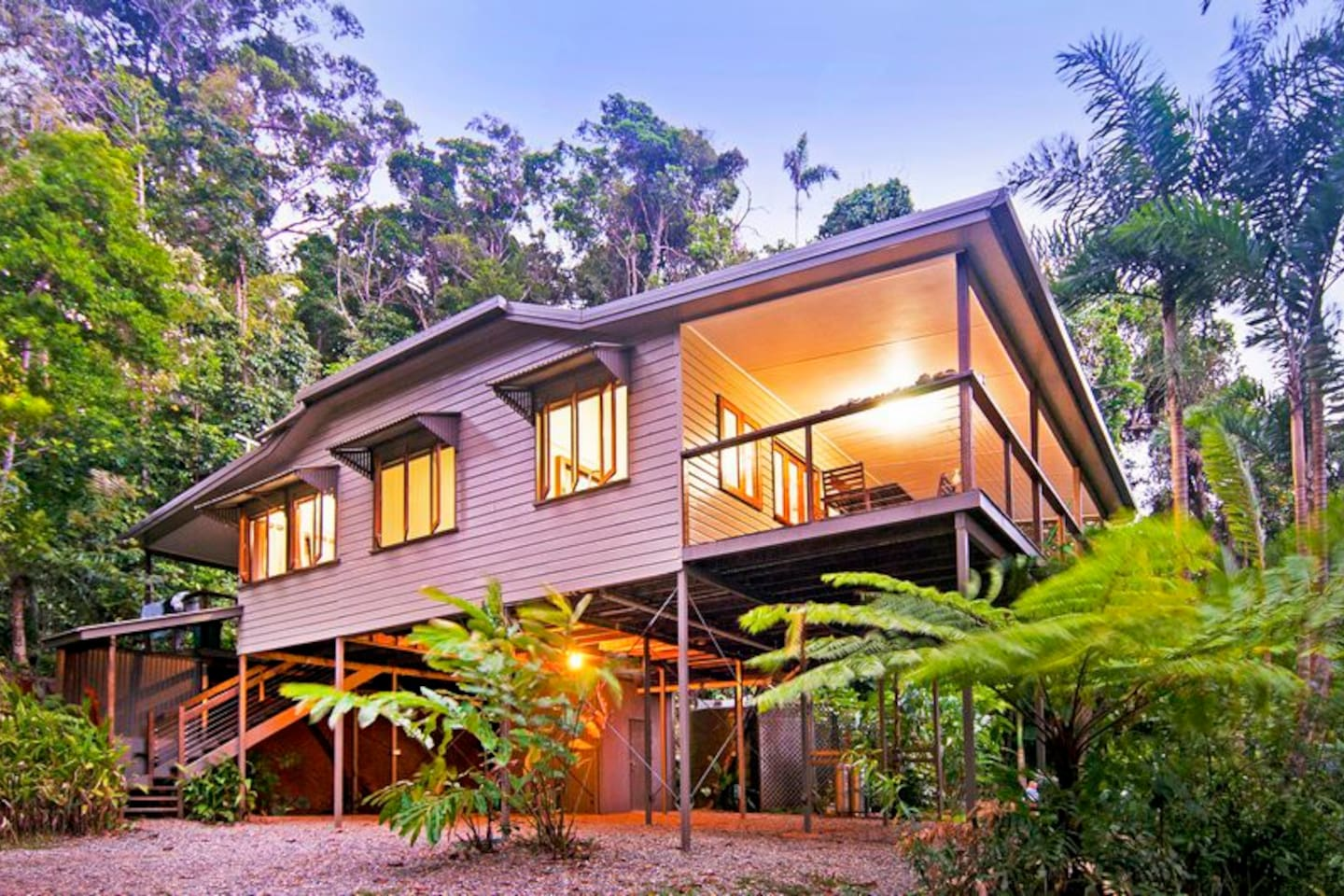 Exterior of House, Daintree Magic Holiday House