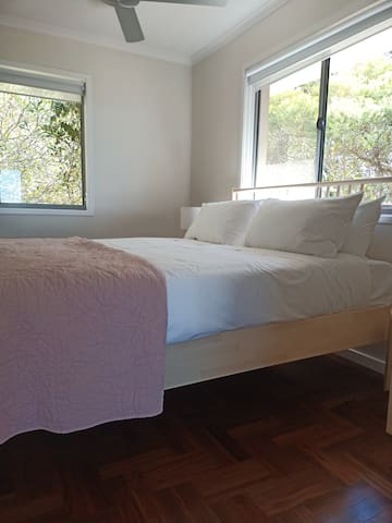 Upstairs bedroom with en-suite