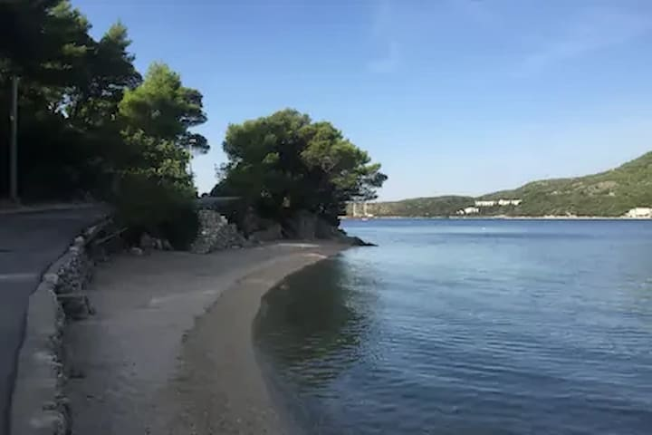 beach Slano 400 meters from the house