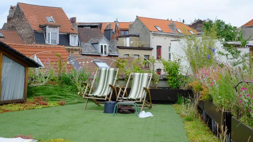 Spacieux studio + Jardin - Saint-Gilles - Pis