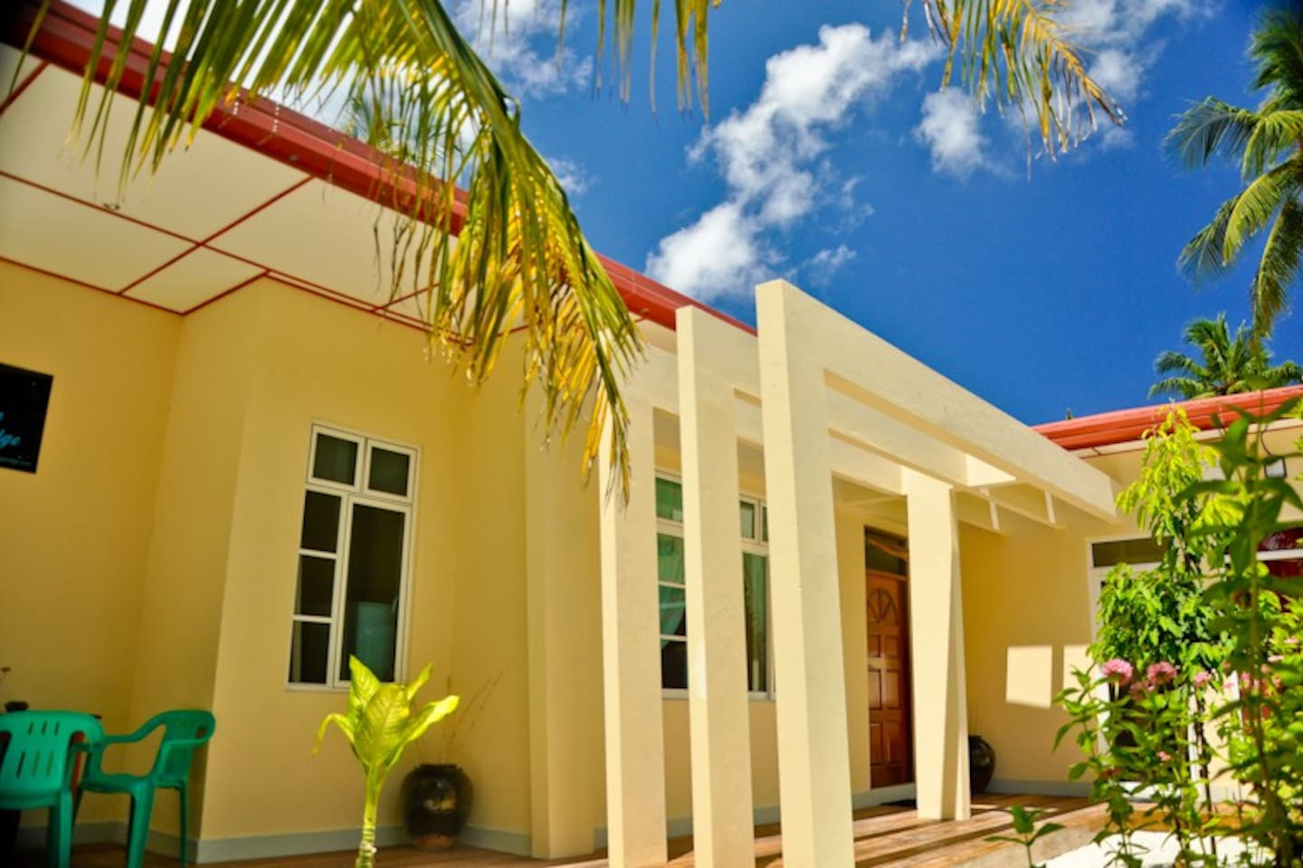 Charming Holiday Lodge- Addu City Meedhoo Maldives.