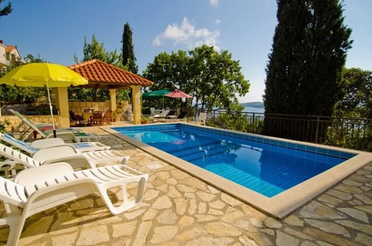 Lučić No.1 apartment & pool  - Orašac - บ้าน