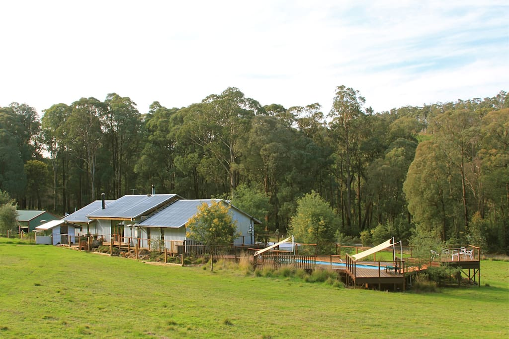 Bald Hills House in the Stanley State Forrest